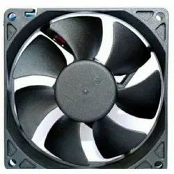 Black Stainless Steel Electric DC Cooling Fan, Model Name/Number: 522, 230v Ac