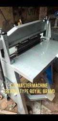 Metal Manual File Master Treadle Type Machine