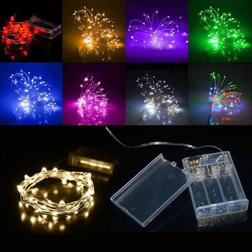Battery operated led series and string lights led decoration battery operated led series and string lights aloadofball Gallery