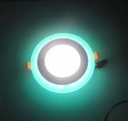 6 Watt D''Mak  Round Double Color LED Conceal Panel