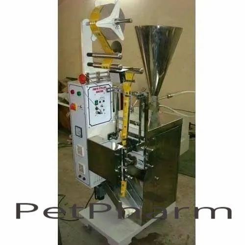 Shampoo Pouch Filling Machine