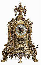 Darsh Home Decor Antique Brass Clock, Size: 24