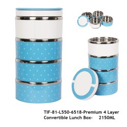 Steel Insulated Lunch Box-TIF-81