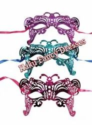 Butterfly Eye Patch Party Wear 6 Pc Set