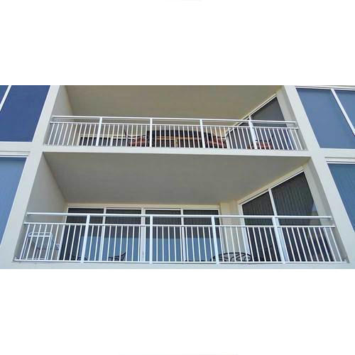 Fancy SS Balcony Railing, Material Grade: 304 And 202, Rs ...