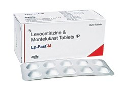 Levocetirizine Dihydrochloride And Montelukast Tablets