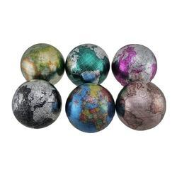 Light Weight Plastic Globe Decorative Balls