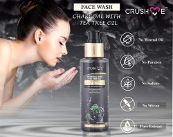 Crush Me Activated Charcoal Face Wash