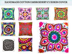 Embroidered Cushions Covers