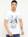 Masculino Latino Xl And 3xl Ultra Modern Printed Tees Shirt