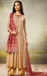 96b120455a Wedding Bridal Trousseau - Black Tussar Silk Suit Set Ecommerce Shop ...