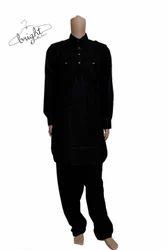 Mens Cotton Pathani Suit
