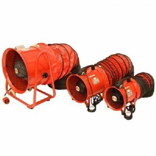 U-Safe Steel Electric Portable Ventilation Fan, Rs 8500 ...