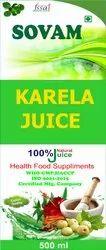 Sovam Karela Juice, Packaging Type: Bottle, Packaging Size: 500 Ml