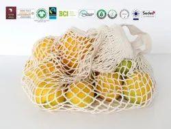 Biodegradable Cotton String Bag