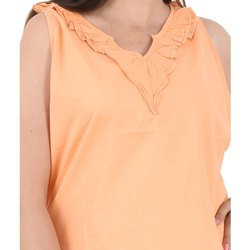 Orange Stylish Top