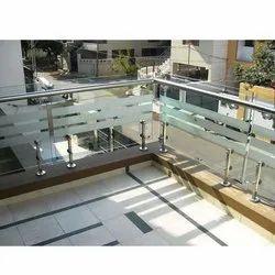 Stylish SS Balcony Railing