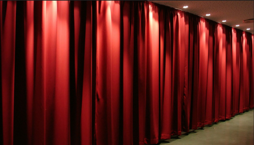 Acoustic Curtain For Sound Absorbers