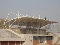 Conical Tensile Roof