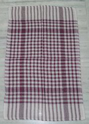 Multicolor Checked Cotton Towel, Weight (GSM): 50 Gsm, Size: 50 X 70 Cm