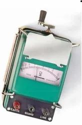 Analogue Insulation Tester (Hand Driven Generator Type)