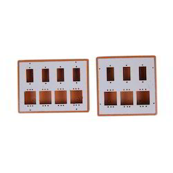 pvc brown switch box