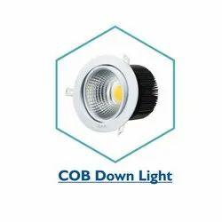 Round Pure White 3W COB LED Downlight