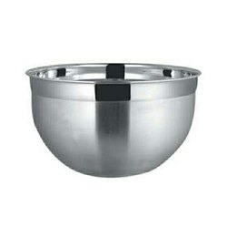 One Silver Stainless Steel Mixing Bowls, For Home