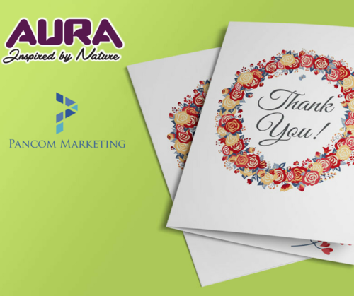TNPL Greeting Card - Aura Celebrations