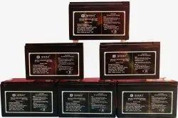 QURAX MAKE 7.2 AH SMF BATTERIES, Warranty: 1 YEAR, 2.300 Gm