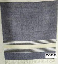 Viscose Yarn Dyed Stripe Shawls