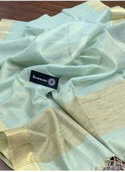 Gicha Tissue Linen Saree