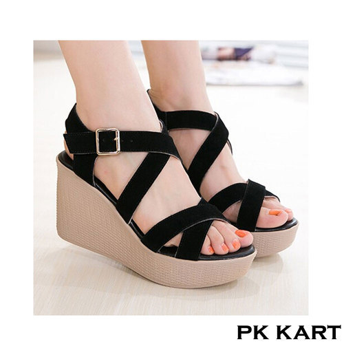 stylish wedges sandal at rs 420 pair wedge sandals id 15876417748