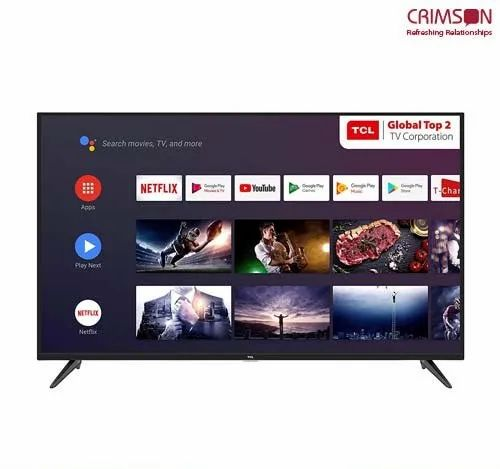 3860 Pix X 2160 Pix 43P8 TCL AI 4K UHD Certified Android Smart LED TV,  Screen Size: 108 Cm (43 Inches), Rs 52990 /unit | ID: 21967335155