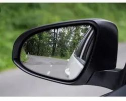 Glass And ABS Car Mirror, Size: 29 Cm X 15 Cm X 29 Cm