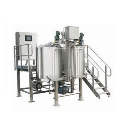 Flavor Slurry Mixer With Spray System
