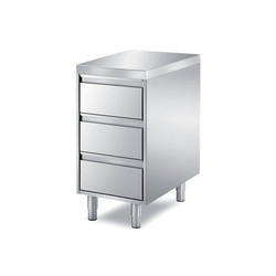 3 Drawer SS Counter