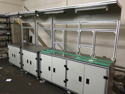 Aluminum Modular Work Station