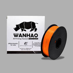 Wanhao Original Orange PLA 1.75mm 3D Printer Filament