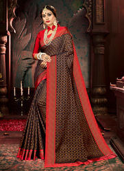 Weaving Silk Printed Sarees