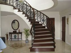 Round Design Stair Railing