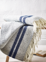 Balajee 100% Cotton Bed Sofa Throw Blankets, Size: 130x170 Cm