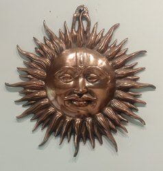 Wall Decor Metal Sun