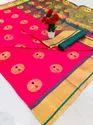 Mina-Mina Banarasi Silk Saree