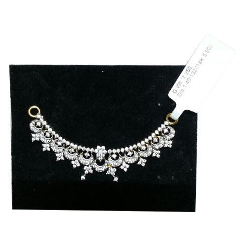 Ladies double hook pendant at rs 83500 piece diamond pendants ladies double hook pendant mozeypictures Image collections