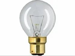 Pure White Lustre P45 Clear Bulb, Voltage: 200-250V