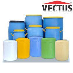 Vectus PVC Blow Molded Drum, Capacity: 60, 100 & 120 L