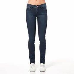 Bottom Button Dark Blue Ladies Jeans