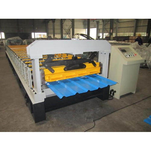 Ms Body Material Roofing Sheet Gutter Making Machine