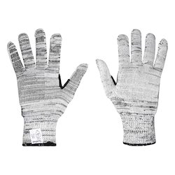 HPPE Full Fingered Cut Resistant Gloves, Weight : 115g